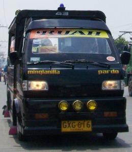 multicab, philippines transportation,local bus