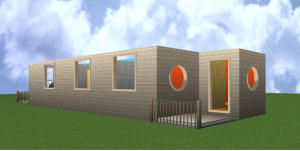 3d image,shipping container home
