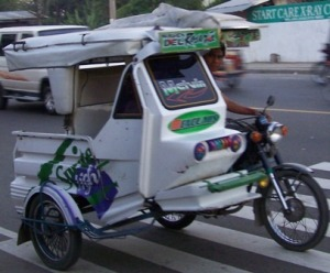tricycle,philippines transportation,trike